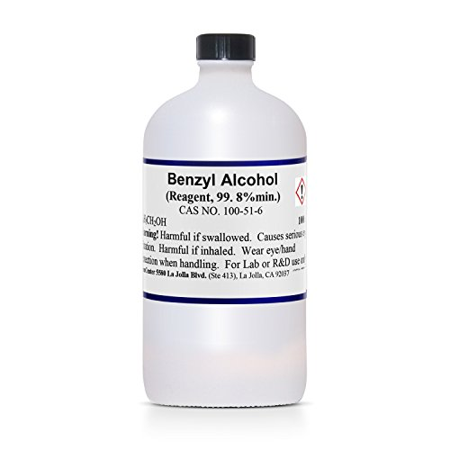 Benzyl Alcohol, Ultra Pure, 99.8+%, 100 ml - Import It All