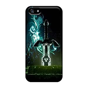 TimotB Design High Quality Triforce The Legend Of Zelda Cover Case With Excellent Style For Iphone 4/4s