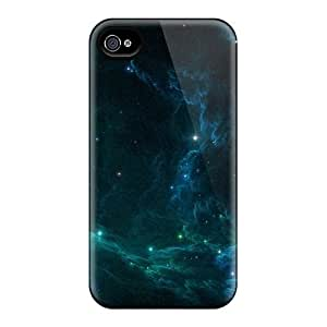 Top Quality Cases Covers For Iphone 4/4s Cases With Nice The Darkest Space Appearance