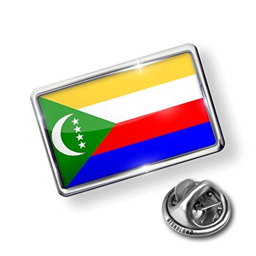 Pin Comoros Flag - Lapel Badge - NEONBLOND big discount
