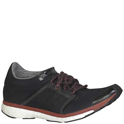 adidas Women's Adizero Adios Running Shoes Core Black/Granite/Noble Maroon 8.5 B(M) US