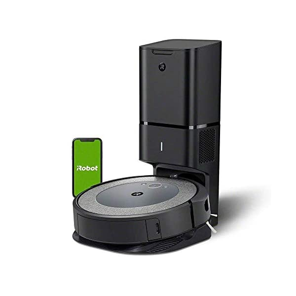 iRobot Roomba i3+ (3550) Robot Vacuum with Automatic Dirt Disposal Disposal - Empties Itself, Wi-Fi Connected Mapping… 1