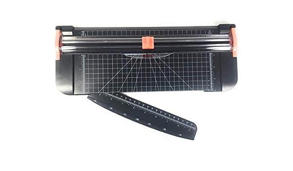 Cortador de papel de titanio con protecci/ón de seguridad para A4 TANCUDER