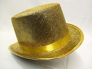 0d895db72fe Top Hat ~ Gold ~ Cabaret ~ Moulin Rouge ~ Dance ~ Showgirl  Amazon ...