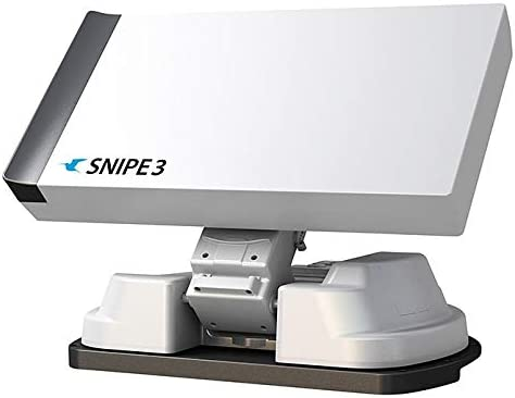 Selfsat Snipe V3 Twin Antena de satélite totalmente automática