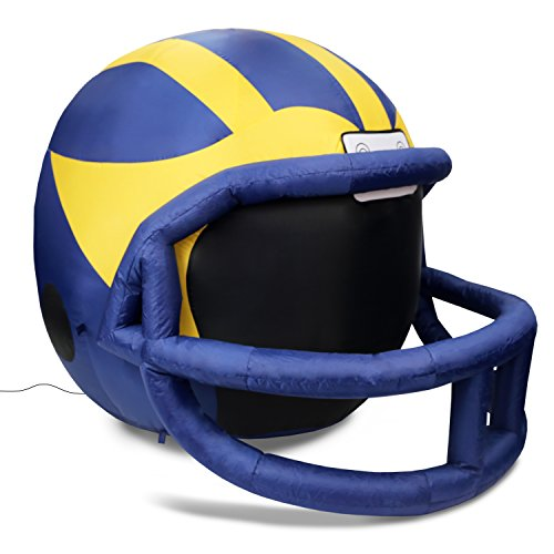 - Fabrique Innovations NCAA  Inflatable Lawn Helmet, Michigan Wolverines