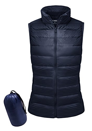 Yidarton Women Down Vest Packable Lightweight Outerwear Coat Jacket Puffer Vests(na+l)