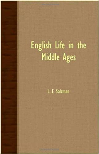 Book English Life in the Middle Ages