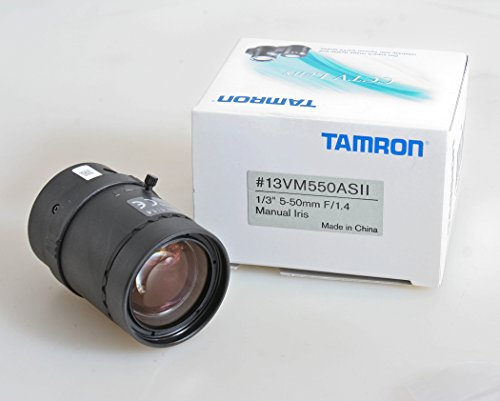 8 Mm Vari Focal Manual - TAMRON LENS 13VM308AS Camera Lens, VARI Focal, 1/3IN, 3-8MM, ASPHERICAL, Manual IRIS
