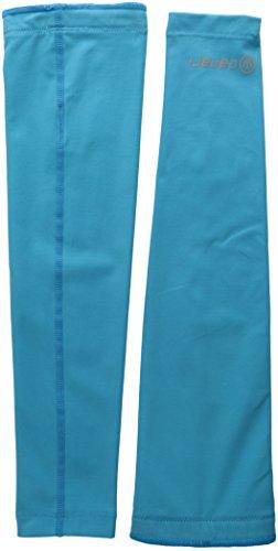 CANARI Solar Flare Arm Warmers, Electric Blue, Medium ()
