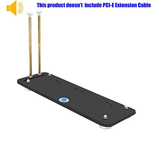 PCI- E 3.0 16X Graphics Card Vertical Kickstand/Base with Magnetic Standoff for DIY ATX - Video Express Atx Pci Audio
