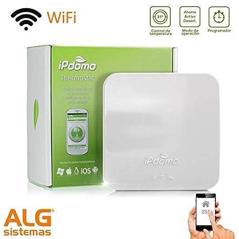 Termostato wifi a pilas iPdomo: Amazon.es: Bricolaje y herramientas