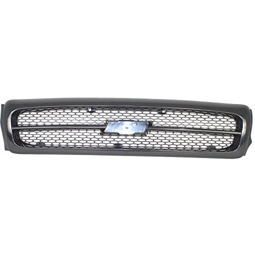 Grille for Chevrolet Impala 94-96 Painted-Black SS Model