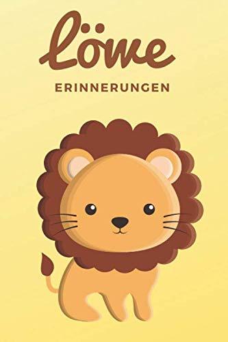 Löwe: Notizbuch! Zum Brüllen: Das 120 Seiten starke linierte Notizbuch, Tagebuch, Fotobuch für deine Ideen mit deinem Lieblingstier dem Löwen (German Edition)
