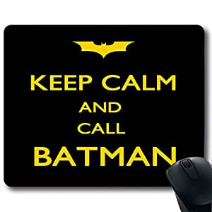 """KEEP CALM Customized Rectangle Non-Slip Rubber Mousepad Gaming Mouse Pad 9""""X7.4"""""""