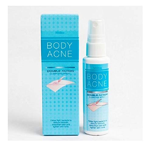 Mistine Body Acne Double Action Clarifying Treatment Spray 50 Ml. by Thailandgoods