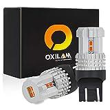 7440 7443 LED Tail/Brake Light Bulb Brilliant Red 7441 4014 992 W21W T20 LED Bulb (2 PACK)