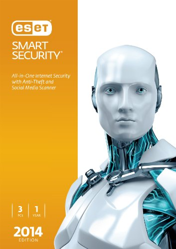 Eset Smart Security 2014 Edition   3 Users