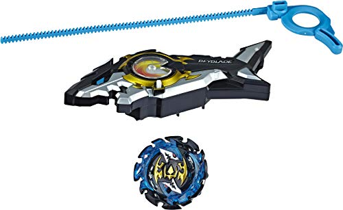 BEYBLADE Burst Turbo Slingshock Riptide Blast Set -- Right/Left-Spin Launcher with Right-Spin Battling Top, Age 8+