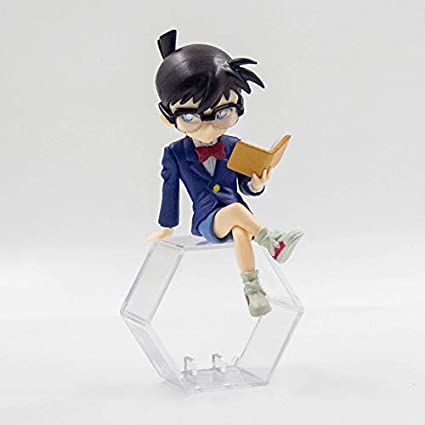 MFWJ Detective Conan Ejecutar a Mano Kudo Nueva muñeca de Juguete Adornos Modelo Animado Coche Desconocido ladrón -7cm Regalo Kidd (Color : 1)