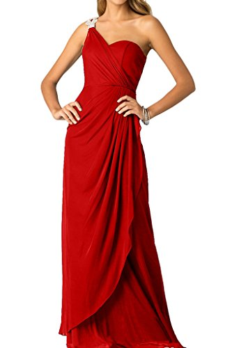 Festkleid Ivydressing Ein Ballkleid Promkleid Schlter Abendkleid Strass mit Damen Rot qA4RxPA