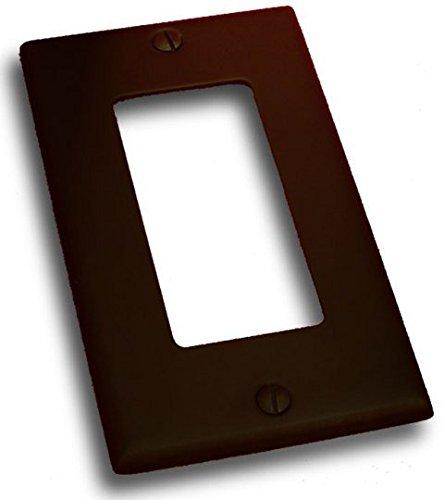 (Residential Essentials 10815VB Single Rocker Switch Plate, 4.5