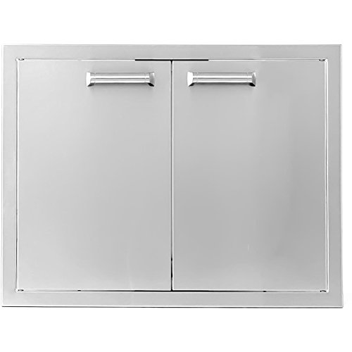 BBQGUYS Sonoma Series 27-Inch Stainless Steel Double Access Door