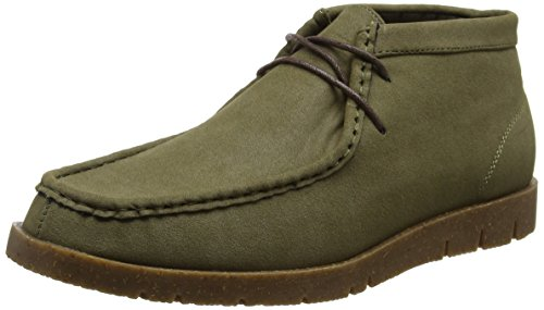 New Look Casual Moccasin Boot - Botas Hombre Marrón (Dark Khaki)