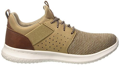 Marron light Brown Delson Skechers Homme camben Baskets wXxnHBqBIp