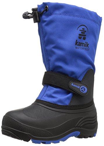Kamik Boys' Waterbug5 Snow Boot, Blue, 10 Medium US Toddler