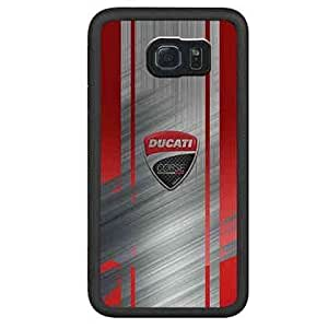 Smartphone Case Carcasa Samsung Galaxy S6 Edge Cover Funda Ducati Specialised Design Hipster New Style Shell