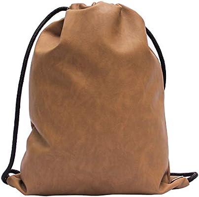 aus Kunstleder Indiana Gym Bag Turnbeutel Rucksack Sporttasche