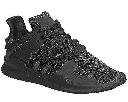 Adidas Eqt Ondersteuning Adv Mens Tennisschoenen Zwart Zwart / Grijs