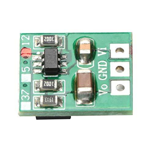 3パック昇圧モジュールミニ調整可能昇圧回路基板DC / DCパワーコンバータ電圧レギュレータ電源モジュール(12V)