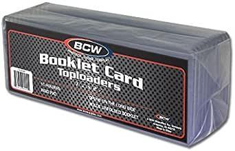 BCW 1 Pack of 5 Holders 12 x 36 Toploaders #CS115