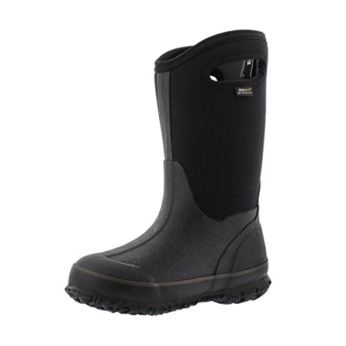 Bogs Children's Classic High Waterproof Winter Boot Black 1...