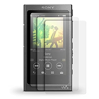 iGadgitz 3x Pack of Screen Protector for Sony Walkman NW-A35 MP3 Player Clear Protective Film from iGadgitz