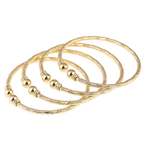 India African Gold Bangle Jewelry For Girls Gold Bangles Bracelet Jewelry (Gold 4)
