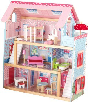 KidKraft Chelsea Doll Cottage with Furniture | Learning Toys
