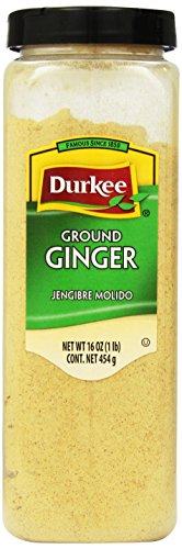 Durkee Ginger Ground, 16-Ounce Containers (Pack of 2) by Durkee