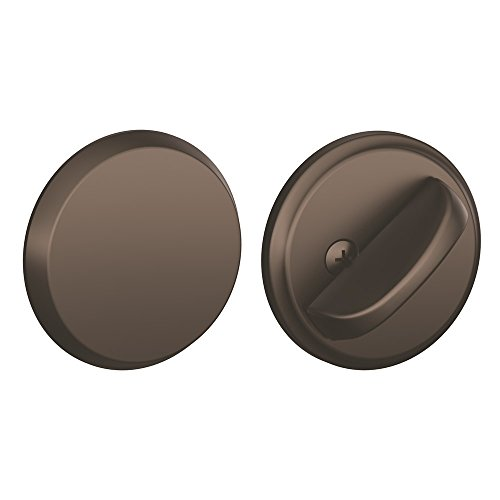 Schlage Schlage B81 Single Sided Residential Deadbolt with Thumbturn and Outside Trim Pl, Oil Rubbed Bronze