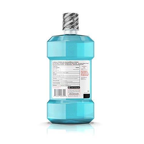Listerine Antiseptic Mouthwash, Cool Mint, 1.5 L