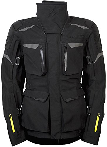 ScorpionExo XDR Yukon Men's Textile Adventure Touring Motorcycle Jacket (Black, Large)