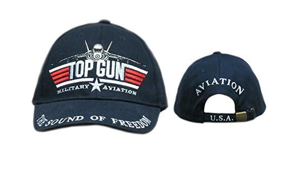 Top Gun Gorra de aviación Militar: Amazon.es: Juguetes y juegos
