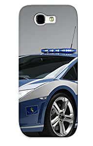 Galaxy Note 2 Cover Case Design - Eco-friendly Packaging(lamborghini Gallardo Police Car )