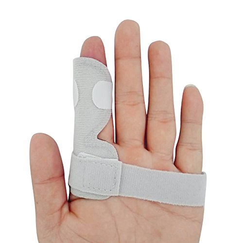 Trigger Finger Splint Support Brace,XIIYY Finger Splint finger Brace for Straightening Curved, Bent, Locked Stenosing Tenosynovitis Hands by XIIYY