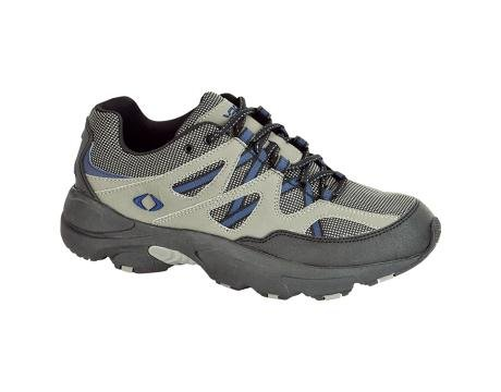 Apex Men's V753MW12 Shoe, Gray/Blue, 12 W US (Apex Mens Shoes)