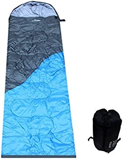 SUHAGN Sac de couchage Camping Camping Plein Air Hiver 1.8Kg Penjiaomian Oreiller Adultes