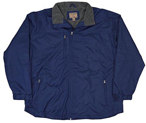 Fleece Lined Windbreaker (Northern Expedition Men's Fleece Lined Windbreaker Jacket (Medium, Navy))
