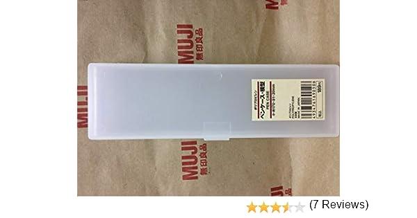 MUJI - Estuche pequeño para bolígrafos (170 x 51 x 20 mm): Amazon.es: Juguetes y juegos
